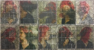, Sepideh Salehi, Mosaic Mohr Portrait, 2014, 28274