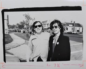 , Andy Warhol, Mick Jagger and Terry Southern, 1983, 49322