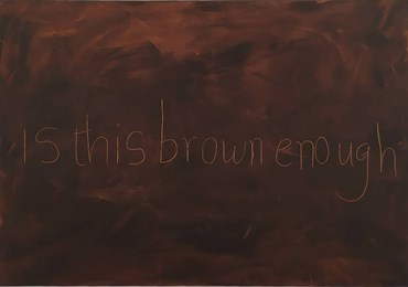 , Atousa Bandeh, Is this brown enough, 2020, 40734