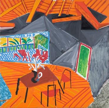 , David Hockney, California Interior, 1986, 50637