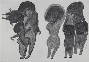 , Davood Koochaki, Figures, Large and Small, 2015, 19315