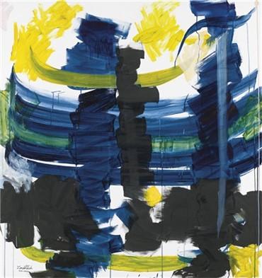 , Charles Hossein Zenderoudi, Iris, 2007, 17513