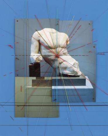 Farsad Labbauf, Statue of Laying Man, 2020, 9862