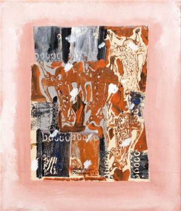 , Charles Hossein Zenderoudi, Abstract Composition, 1993, 5140