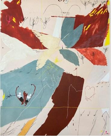 Painting, Maysha Mohamedi, Ecofeminist Origin Story, , 26906