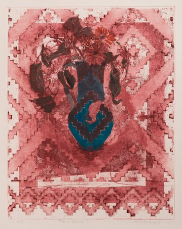 , Nahid Haghighat, Blue Vase, 1978, 46076