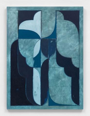 , Kamrooz Aram,  Untitled (Arabesque Composition), 2021, 45677