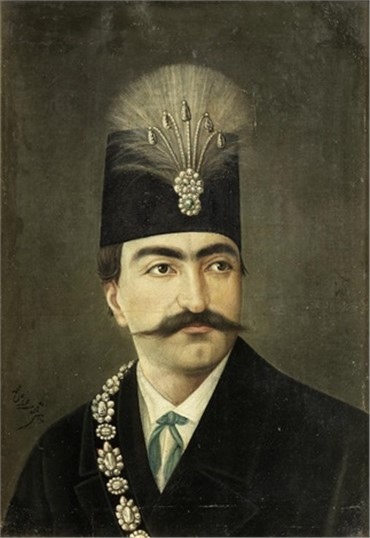 , Mohammad Ghaffari, Nasr Al-Din Shah Qajar, 1950, 8634