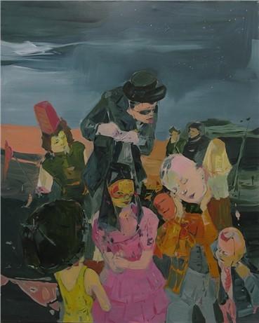 Painting, Hoda Kashiha, Pernacchia, 2013, 7377