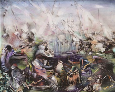 , Ali Banisadr, All the Word's a Stage, 2019, 17667