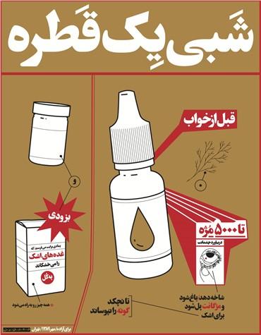 , Farhad Fozouni, Eyedrops, 2011, 1061