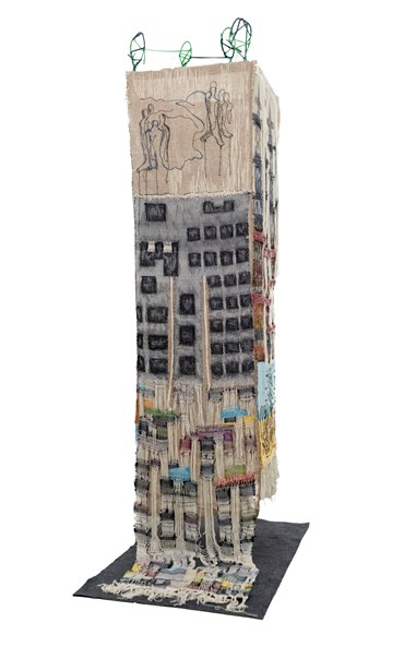 Sculpture, Afsaneh Modiramani, There Is No Light On The Other Side Of The Alley, 2021, 46853