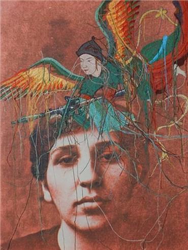 Mixed media, Rozita Sharafjahan, Sixth Desire, 2011, 20717
