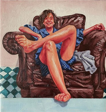 , Ghazal Marvi, Self Portrait, 2020, 25363