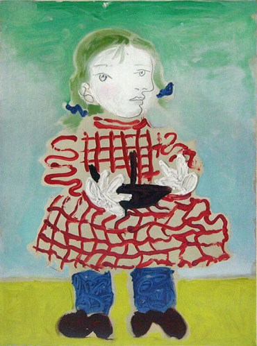 , Pablo Picasso, Maya au Pinafore, 1956, 49186