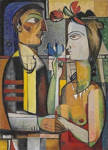 Painting, Mohsen Vaziri Moghaddam, Untitled, 1956, 51114