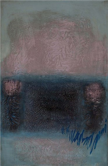 Painting, Hossein Kazemi, Untitled, 1970, 14571