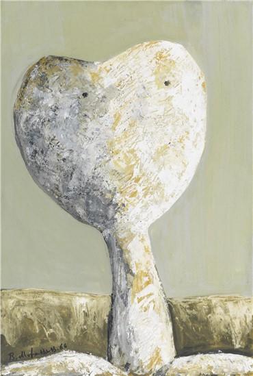 Painting, Bahman Mohassess, Head, 1966, 15278