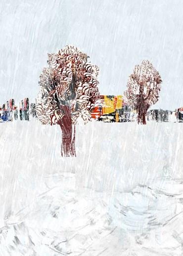 , Behzad Shishegaran, Perspective - Trees, 2017, 40363