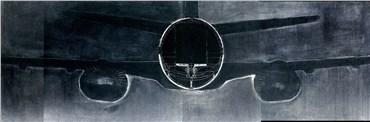 Painting, Golnar Adili, Airplane Cross-section, 2004, 25403