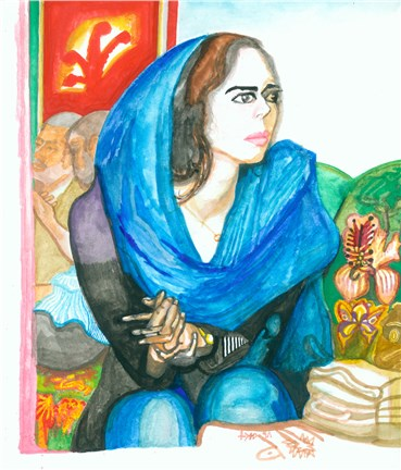 , Sadra Baniasadi, Worried (Delnegroon), 2019, 22635