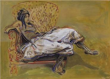 Painting, Mehdi Ahmadi, Untitled, , 12385