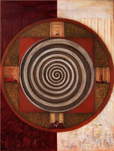 , Homa Bazrafshan, Sandal (Brown) Dome, 2014, 23884