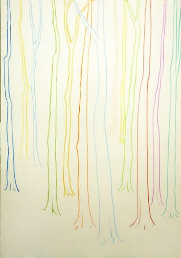 Neda Zarfsaz, No Forest inbetween the Trees V, 2020, 10064