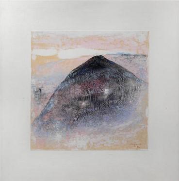, Hossein Kazemi, The Mountain, 1984, 15159