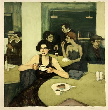 , Malcolm T.Liepke, First to Arrive, 1996, 49190