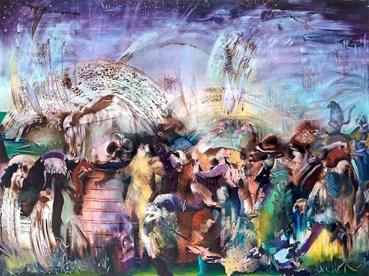 , Ali Banisadr, Untitled, 2021, 40740