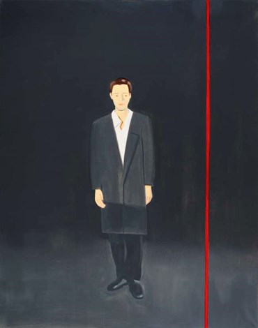 , Alex Katz, Vincent on Time, 2001, 51037