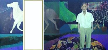 Painting, Maryam Farhang, On the Brink, 2008, 42194