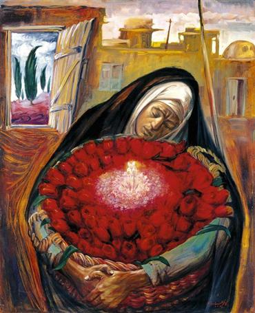 , Kazem Chalipa, Untitled, 1984, 26062