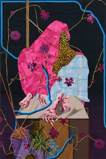 Amir H Fallah, On Hand and Foot, 2011, 10139