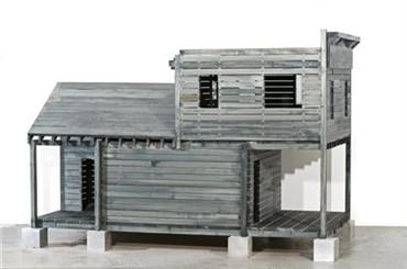 , Siah Armajani, Tomb for Heidegger, 2012, 6476