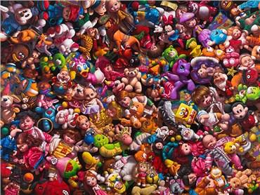 , Siamak Azmi, Dolls, 2018, 35999