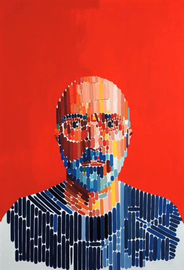 , Farsad Labbauf, Self-Portrait-I, 2020, 28705