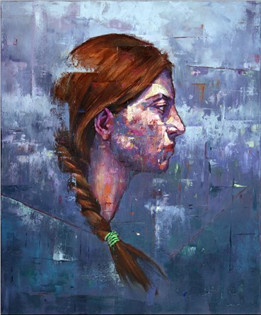 Painting, Ashkan Mahroei, Parnia, 2015, 13729