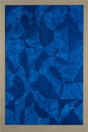 Kamrooz Aram, Arabesque Composition in Lapis Lazuli, 2019, 10025