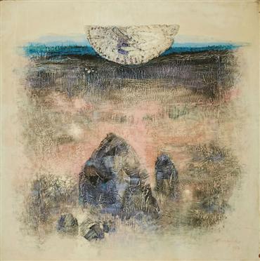 , Hossein Kazemi, Untitled, 1984, 7494