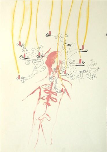 , Ala Dehghan, Illuminated Stomach, 2009, 10932