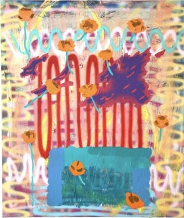 , Sam Samiee, When Flowers Are Plenty the Elephants Might Stumble, 2020, 35210