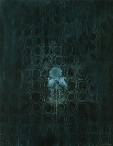 Painting, Avish Khebrezadeh, Two Headed Calf, 2006, 5717