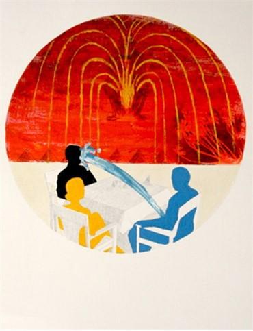 Mixed media, Ghazal Khatibi, Fountain, 2010, 4089