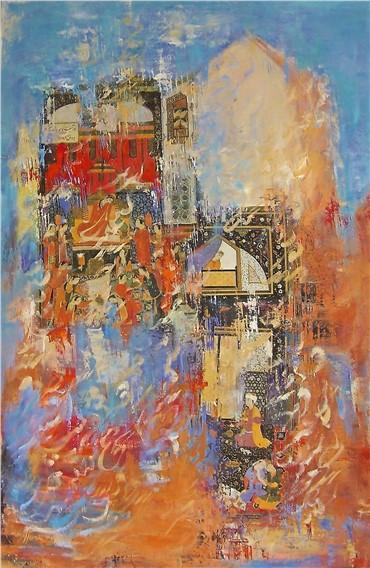 , Nurieh Mozaffari, Éclats du temps II, 2015, 16443