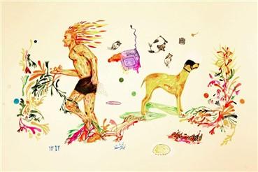 , Zartosht Rahimi, Hunter Escapes, 2013, 4103