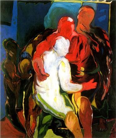 Painting, Ali Nassir, Untitled, 1985, 15222