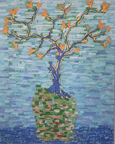 , Farzad Kohan, Blue Blossom, 2021, 45683