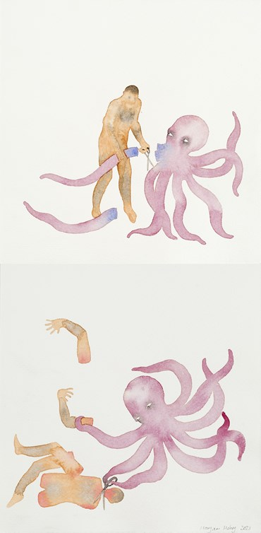 , Maryam Mohry, The Octopus Can Use Scissor, 2021, 49899